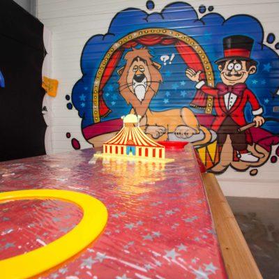 La salle Anniversaire Cirque Grenadine et Crayonnade