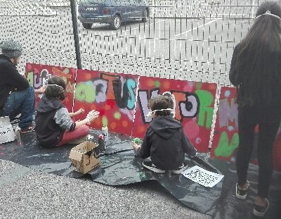 Stage de Graff chez Grenadine et Crayonnade
