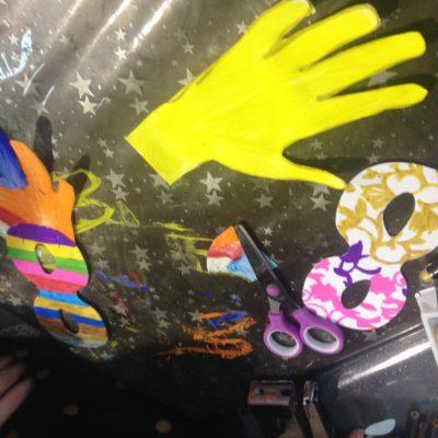 anniversaire loisirs créatifs Grenadine et Crayonnade