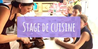 stage, cuisine, grenadine et crayonnade, enfant, vacances,
