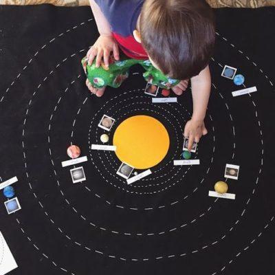 atelier, jeu, astronomie, enfant,